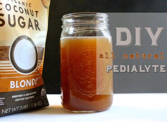 DIY All Natural Pedialyte