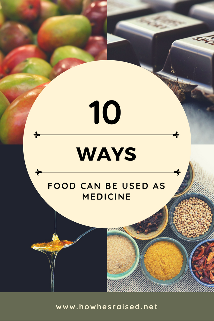 10 Ways Food can be Used as Medicine