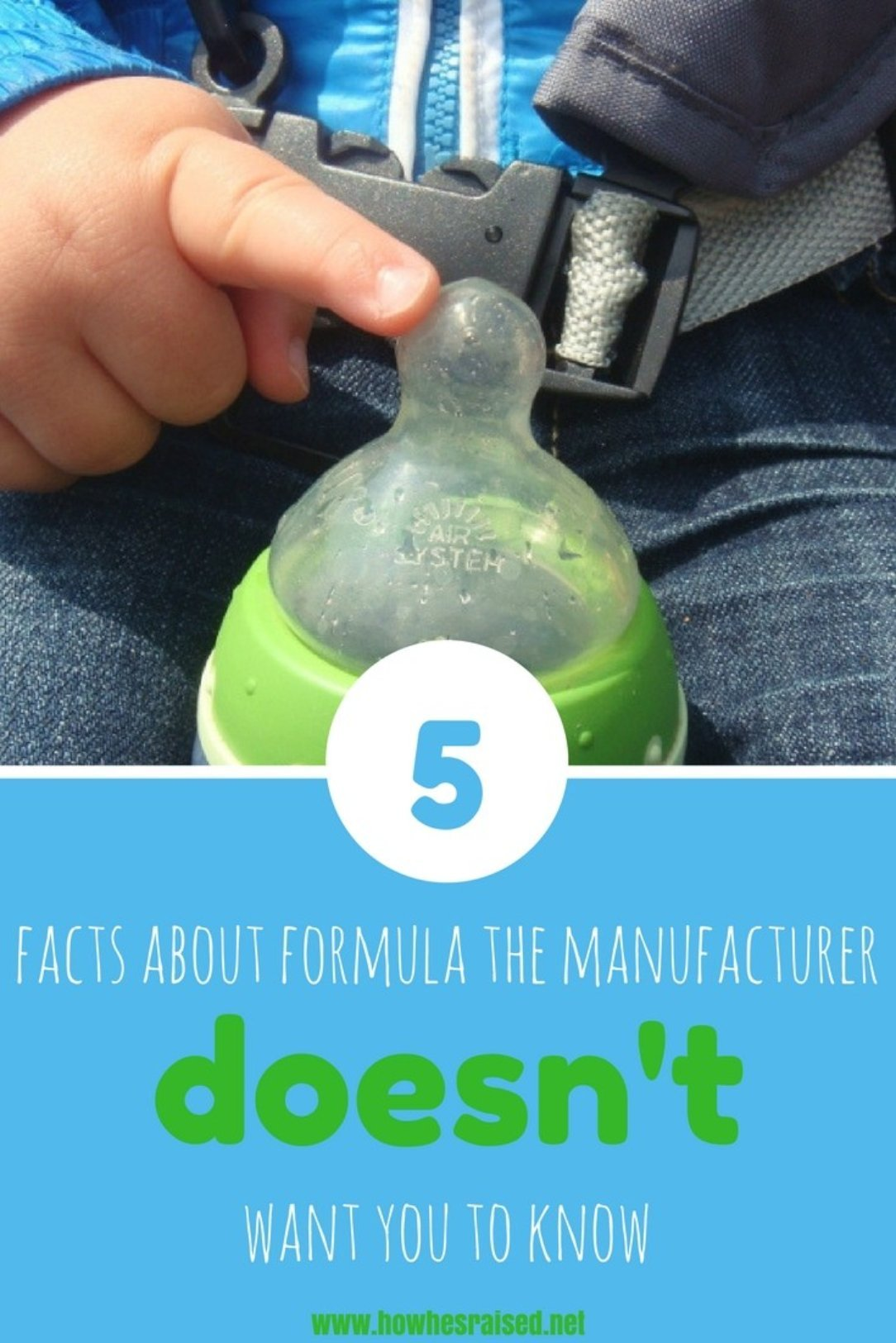 5 Facts about Baby Formula the Manufacturer Doesn't Want You to Know