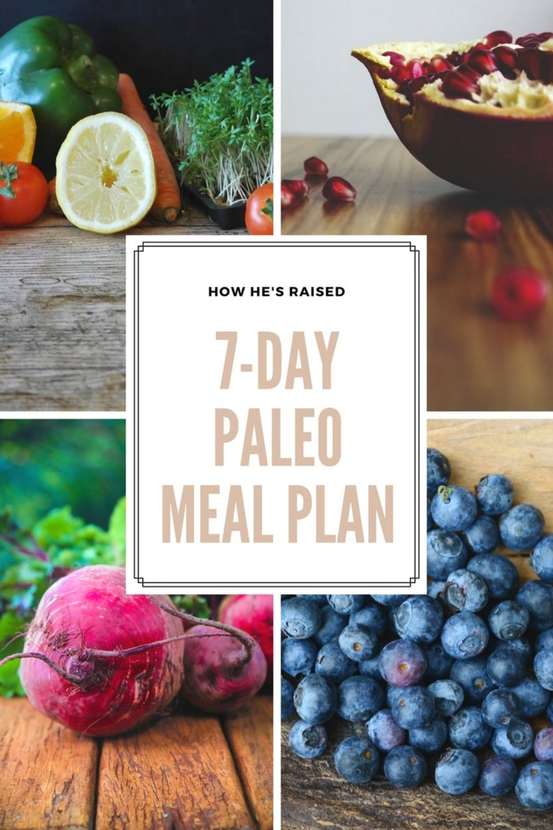7-Day Paleo Meal Plan