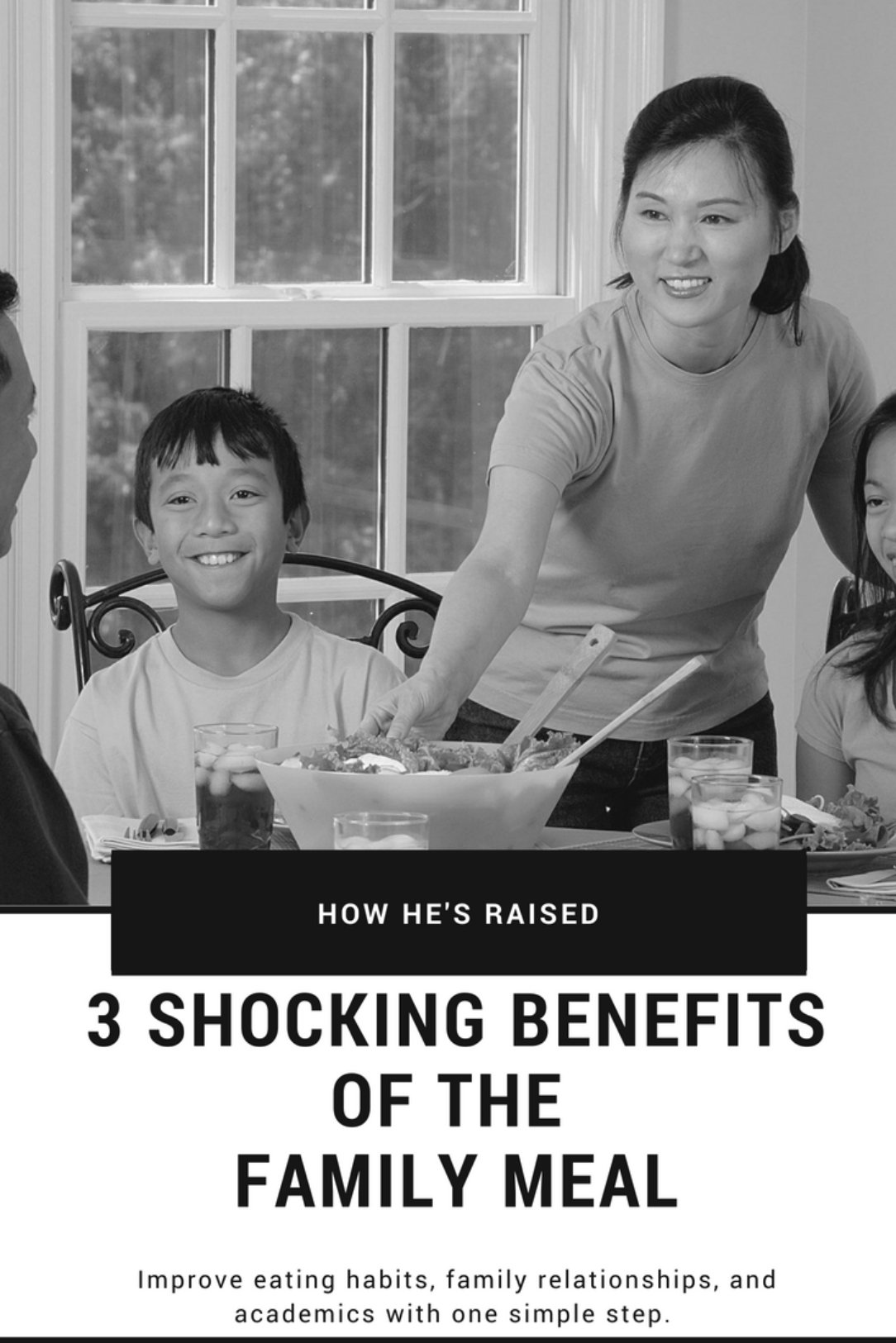 3 Shocking Benefits of the Family Meal