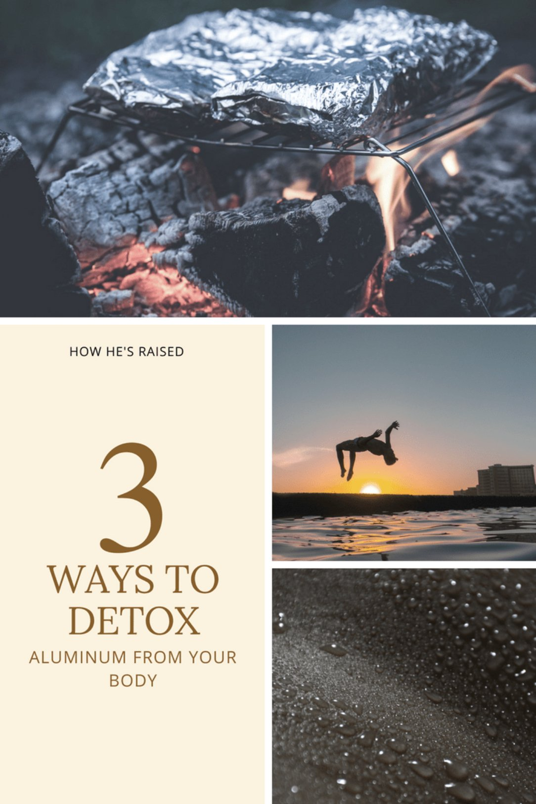 3 Ways to Detox Aluminum from Your Body